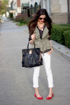Adorable. Perfecta casual outfit.