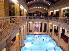 Budapest thermal spas