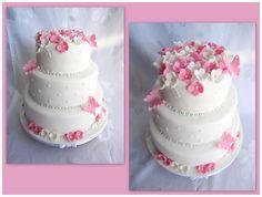 tort weselny różowy - Szukaj w Google
