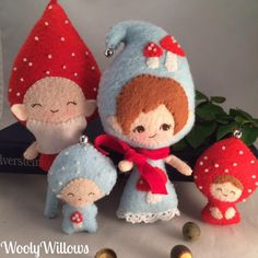 Sweet little gnomes.