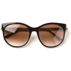 Thierry Lasry black Axxxexxxy sunglasses found on Polyvore