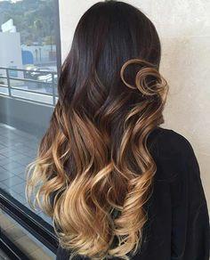Honey Blonde Balayage Aspectos más negativos sobre el cabello oscuro