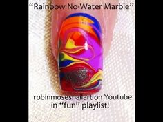 add a clover and get lucky...No water needed...Rainbow swirls.