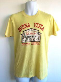 HANK WILLIAMS JR Tshirt 1983 Vintage/ Rare Buena by sweetVTGtshirt, $35.00