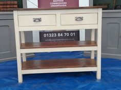 2 Drawer Wooden Server | JUST JONES INTERIORS