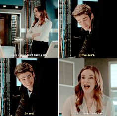 I really don't know what to think of these two. No shipping allowed for these two if the Flash writers had their way, but the chemistry is just SO THERE. What to do? #SnowBarry #Granielle #TheFlash