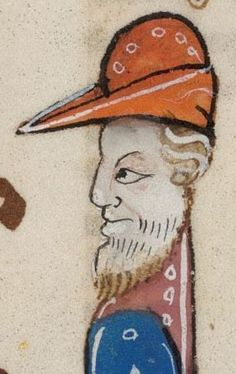 Detail from The Luttrell Psalter, British Library Add MS 42130 (medieval manuscript,1325-1340), f26r