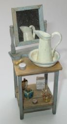 Distressing Wood - Creating Aged Doll House Miniatures Part 2