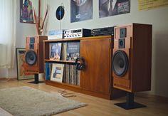 Vintage audio setup