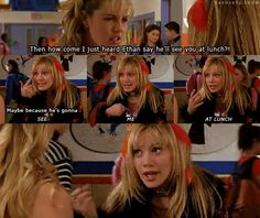 When she got sassy with her haters: | 27 Unforgettable Hilary Duff Moments That Made Up Your Childhood