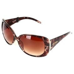 6eeea9b49c Steve Madden Tortoise Rectangular Frame Sunglasses ( 30) ❤ liked on  Polyvore featuring accessories