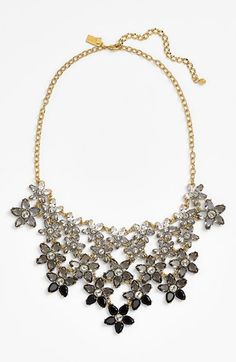 Gorgeous kate spade - ombre bouquet crystal statement necklace http://rstyle.me/~2s3pJ
