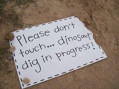 dinosaur/fossils unit