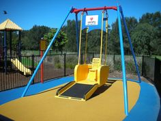 playscapes: Liberty Swing, Wayne Devine, 2000