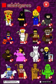 Lego Custom Minifigures, Lego Minifigs, Lego Zoo, Lego Spongebob, Legos, Lego Creator Sets, Lego People, All Lego, Lego Modular