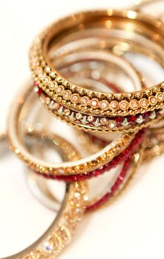 Red & Gold Bangles