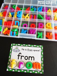 Sight words centers that are so fun! Education Sight Words Sentences Cards Fun Ideas and Centers Sight Word Centers, Sight Word Activities, Alphabet Activities, Literacy Activities, Activities For Kids, Sight Words, Sight Word Sentences, First Grade Reading Comprehension, Improve Reading Skills