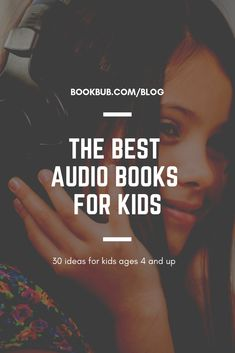 30 of the Best Audio Books for Kids of Every Age - Kids Audio Books - ideas of Kids Audio Books - 30 of the all-time best audio books for kids of all ages. Audio Books For Kids, Childrens Books, Kid Books, Best Audiobooks, Types Of Books, Early Learning, Great Books, Book Recommendations, Book Lovers