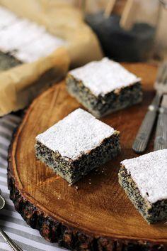 flourless poppy seed apple cake Paleo Treats, Apple Cake, No Bake Cookies, Poppies, Healthy Eating, Tasty, Baking, Recipes, Food