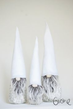 Authentic Scandinavian Gnomes made by Nordic Artisans in Brooklyn, NY  Each gnome is an individual and no two are alike.