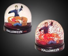 This 20th anniversary Halloween snow globe. | 31 Creepy Items Every Horror Fan Should Own