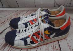 Vintage Trefoil Adidas Superstar 1 Phoenix Suns BasketBall Shoes 15 #Adidas #PhoenixSuns