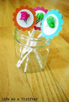 For an Ice cream social: These are super easy!