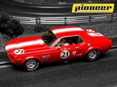 Slot Car, Pioneer, Mustang