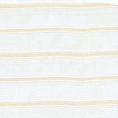 Loire Valley Gold Silver Double Wide Horizontal Sheer Stripe Drapery Fabric - 57644 | BuyFabrics.com