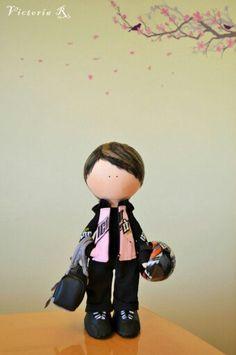Handmade interior dolls by Victoria Ryzhinkova. Toridolls. Interior design.  Textile dolls. Fabric dolls.