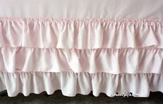 {DIY} How to Make a No Sew Ruffle Tablecloth for Less than $10 | Catch My Party