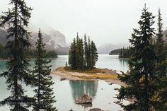 Spirit Island Alberta by Rishad24