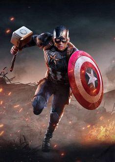 Marvel Avengers, Marvel Comics, Marvel Films, Marvel Art, Marvel Characters, Marvel Heroes, Captain America Poster, Captain America Wallpaper, Marvel Captain America
