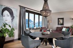Neubau am See – Das Einfamilienhaus Curtains, Furniture, Home Decor, Window Ledge, Small Places, Dark Hardwood, New Construction, Blinds, Decoration Home