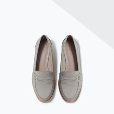 ZARA - WOMAN - MOCCASIN WITH DECORATIVE BAND
