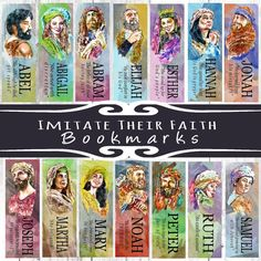 15 IMITATE THEIR FAITH Book Bookmarks Select by MainelyBooks