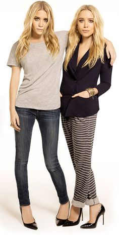 Mary-Kate and Ashley Olsen (via StyleMint)