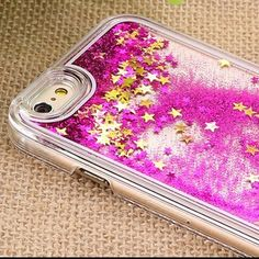 Liquid moving glitter iPhone 6+ case Liquid moving glitter iPhone 6 Plus case. Pink and gold! I bought the wrong size bought from pac sun! PacSun Accessories Phone Cases