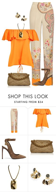 """""""Sin título #1497"""" by marisol-menahem ❤ liked on Polyvore featuring Etro, Tom Ford, Prada, Lanvin and BaubleBar"""