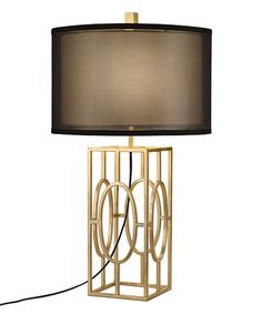 Look at this Gold Metal Foil Three-Way Table Lamp on #zulily today!