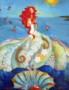 Birth of Venus        by Alina Eydel