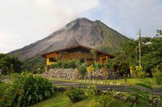 Arenal Observatory Lodge lets you sleep as close to a volcano as you can get, and hike along lava trails. | 12 Places To Stay In Costa Rica You Won't Believe Actually Exist