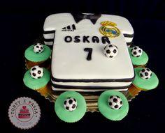 Torty z Pasją: Koszulka Real Madryt tort, Real Madryt cake.