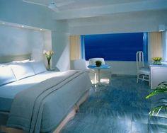 Decoración y Afinidades: Dormitorio con colores relajantes para este 2012