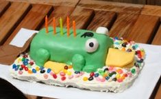 Perry the Platypus cake.  I want one of these for my birthday!