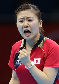 Women's Team Semi-Final: Japan vs. Singapore - Table Tennis Slideshows | NBC Olympics