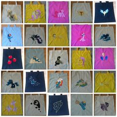 So many Bags, Available on ponymerch.com by GrayTheZebra.deviantart.com on @DeviantArt