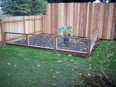 I Made The Fence Using 1x2 Lumber Getting Lowes To Cut It