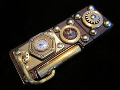 Steampunk 16GB USB Flash Drive | via DudeIWantThat.com
