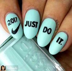 By  hdinails  2017  Nike  nails  ShellacNails Elegant Nail Designs 09fe7201d6
